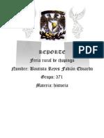 REPORTE DE CHAPINGO