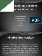 Enfermedades Que Impiden La Practica Deportiva (Expo)