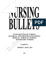 Nursing Bullets