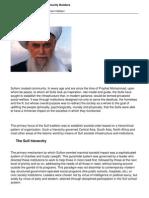 The Sufis Enlightened Community Builders