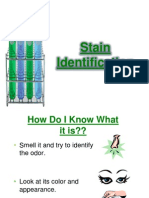 Stain Identification