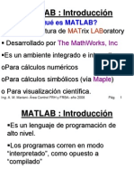 Matlab Curso Introduccion 2008