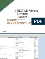 Bank Reconciliation Samin Basis