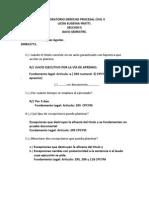 Lab Oratorio Derecho Procesal Civil II
