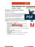 Toner original para Kyocera Mita TASKalfa 750c