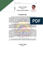 Capiz Provincial Development and Physical Framework Plan 2008-2013