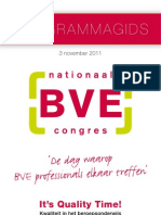 Programmagids Nationaal BVE Congres 3 November 2011