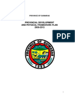 Guimaras Provincial Development and Physical Framework Plan 2008-2013