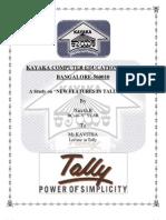 Tally Erp.9 (With Dark Back Ground)
