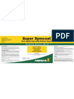 Supersymcoat Label