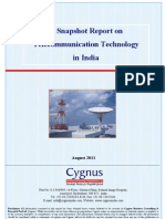 A Snapshot Report on Telecommunication Technology in India