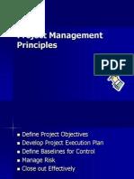 Project Management Principles T 19.08
