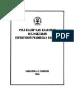 Pola Klasifikasi Kearsipan Diknas 2008