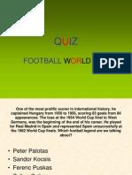 QUIZ Football World Cup