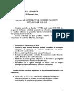 Raport de Activitate_comisie Umanista_anual