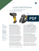 Motorola DS3578 Specifcation