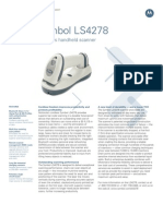 Symbol LS4278 Data Sheet