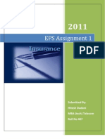 EPS-Insurance Hitesh Dudani 407