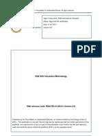 RSB GHG Calculation Methodology