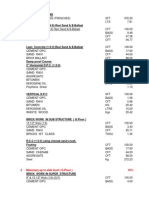 Building Material Calculation