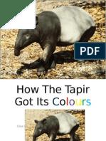 How the Tapir Got Its Colours 4 April 2011