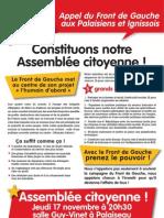Assemblée citoyenne du Front de Gauche (91-6)