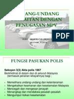 Undang2 Berkaitan Dengan Penugasan MPV