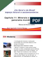 Minerais e Rochas Panorama Geral