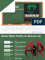 Snakehead By Anthony Horrowitz Summary