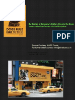 Get close to the customer -Pedigree Foods
