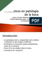Antibióticos en Patologia de La Boca