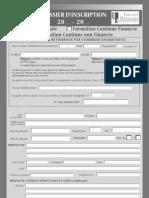 Dossier Inscription Montpellier Capacites