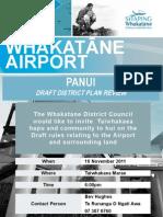 Flyer - Taiwhakaea airport hui - full version