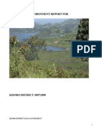 Kisoro District The State of Environment Report