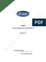 Testking Oracle10g 1z0-042 v2