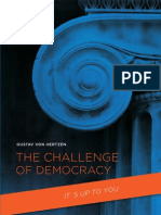 Von Hertzen, Gustav - Challenge of Democracy, The- To Acheive a Global Plus-Sum Game. (2008)