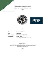 Laporan Praktikum Ayunan Dan Percepatan Gravitasi II