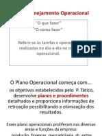 Cap 9 – Planejamento Operacional