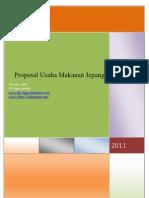 Proposal Makanan Jepang-The Fajars
