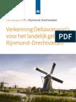 Delta Scenarios Landelijk Gebied Rijnmond-Drechtsteden