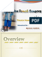 Touch Hand Shake a.k.a Resistive Touch Sensors ( Slides )