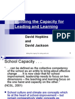 Part 2 (Hopkins) Effective Leadership in Education C.S.M. - M