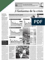 Continúa el fantasma de la crisis