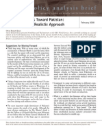 Stanley Foundation Policy Analysis Brief- US Policy Towards Pakistan