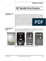 0080 8 Spindle Drive and Motor