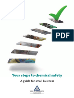 Your Steps to Chemical Safety