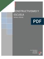 CONSTRUCTIVISMO Y ESCUELA