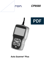 Actron Auto Scanner Plus CP9580 Spanish User Manual
