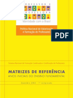 Matriz Refer en CIA Ensino Fundamental