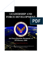 AFDD 1-1 (2006) - Leadership and Force Development